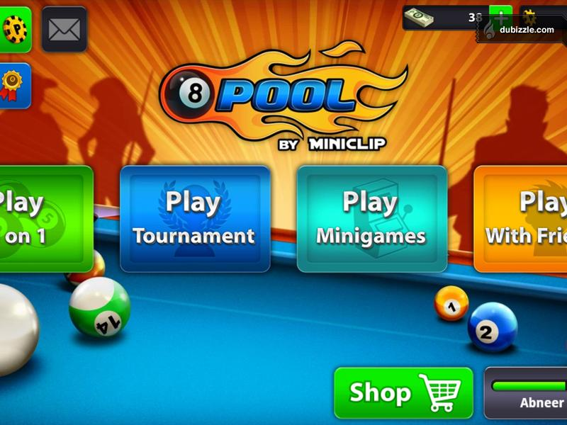 login 8 ball pool