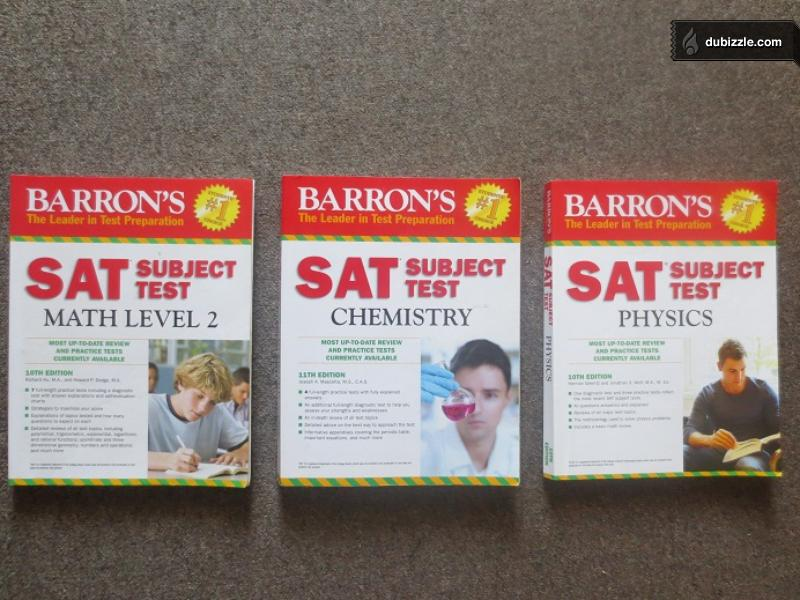 Barrons SAT Subject Test Math Level 2 by Richard Ku M.A., Howard P. Dodge M.A.