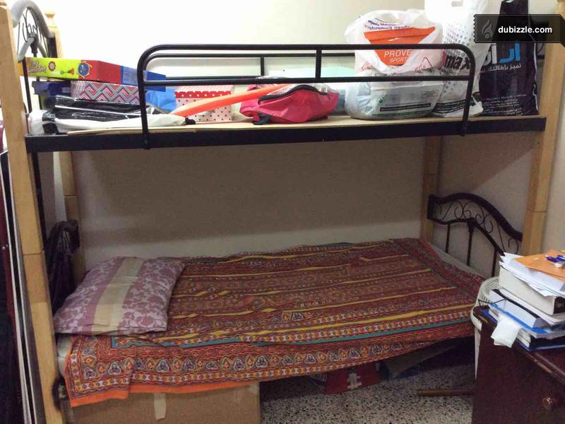 Bunk Bed Used With 1 Mattress Home Garden Dubizzle Oman