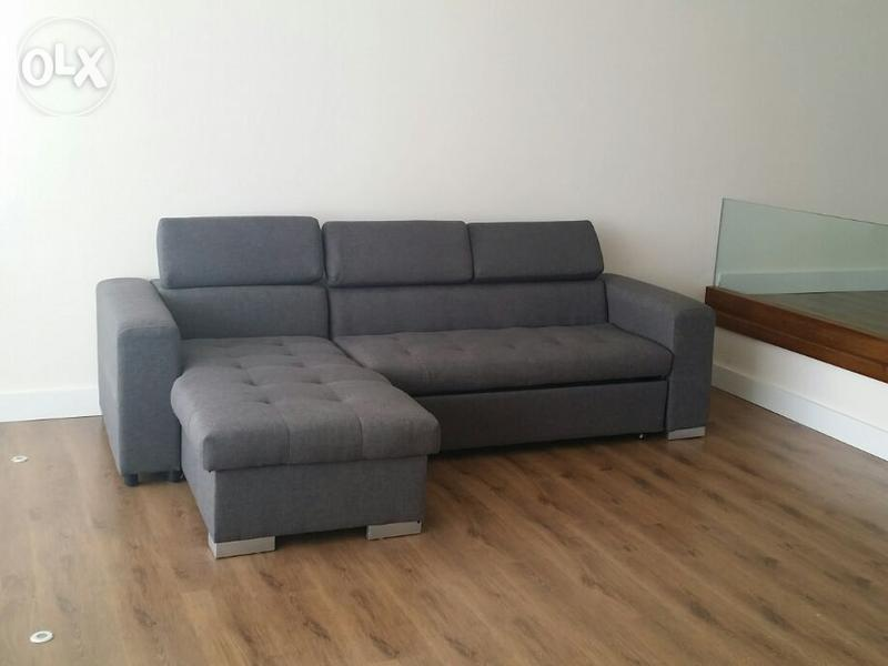 sofa bed very classy bought from bhv 3 months ago grey