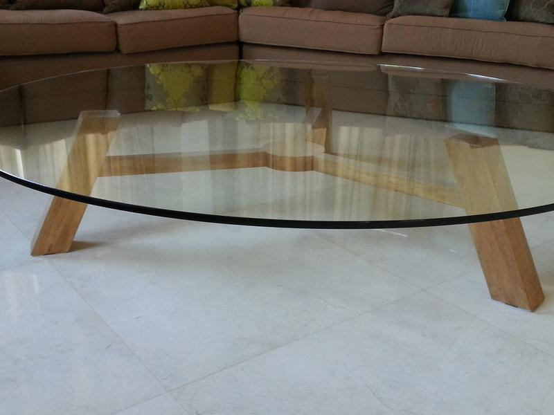 Dubizzle Dubai Home Decor Accents Custom Built Coffee Table In Solid Wood And Glass 180 Cm