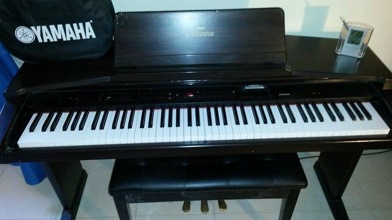 Dubizzle fujairah other piano yamaha clavinova for sale for Yamaha yfl225s flute sale