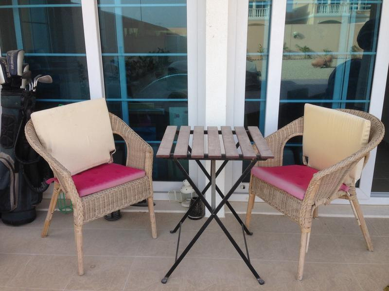 Dubizzle Dubai Garden Furniture Small Garden Table And 2 Wicker Chairs