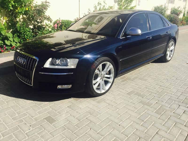 S8: AUDI S8 V10 GULF SPEC MINT CONDITION